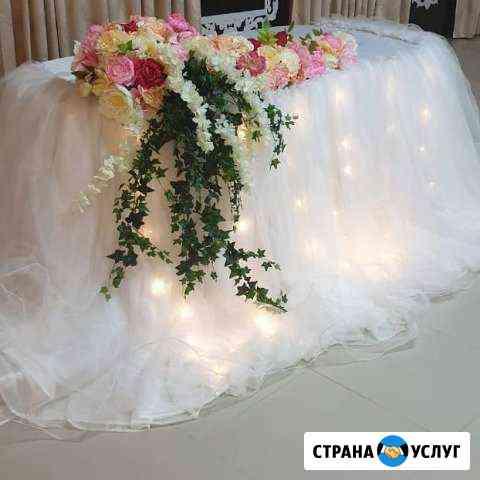 Оформление свадеб, украшение на свадьбу Астрахань
