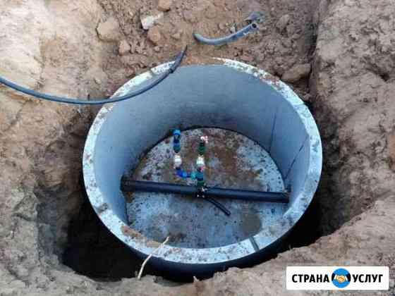 Водопровод врезка водопровода Астрахань