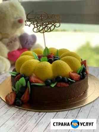 Муссовые тортики и пирожные Казань