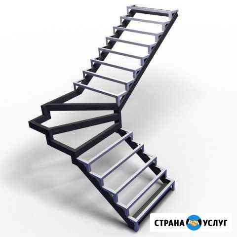 Каркас лестницы металлический Печерск