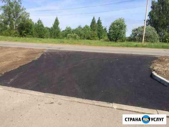 Благоустройство и асфальтирование территории Рыбинск