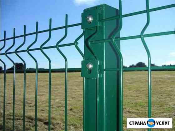 Заборы 3D/профнастил Липецк