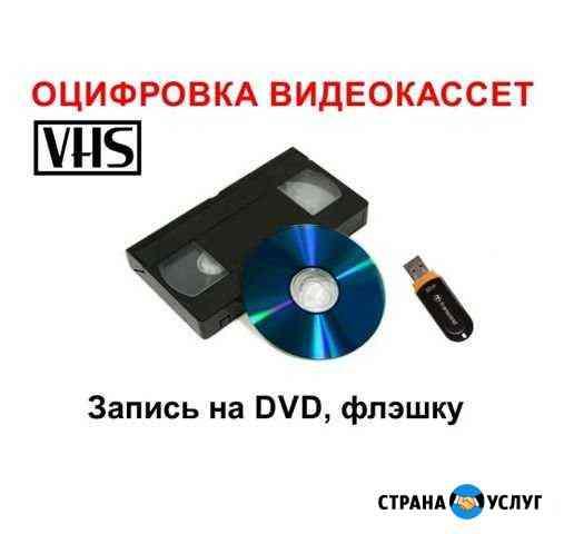 Оцифровка видеокассет Канеловская