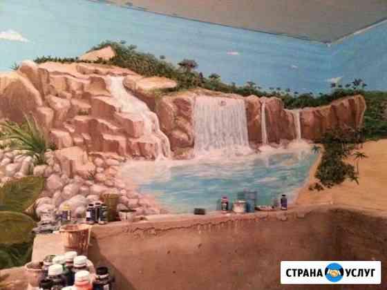 Роспись стен Новосибирск