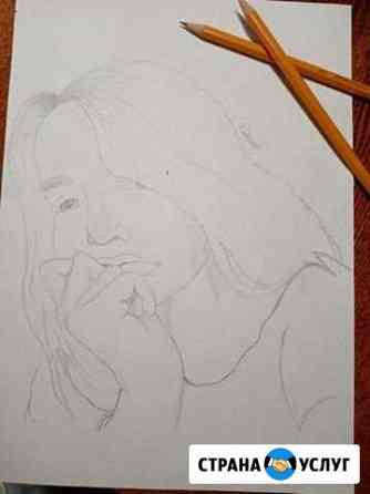 Портрет карандашом на заказ Уфа