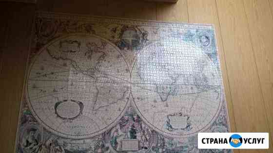 Картины из пазлов на заказ Шахты