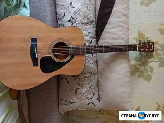 Уроки игры на гитаре Шебекино