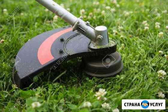 Покос травы Йошкар-Ола