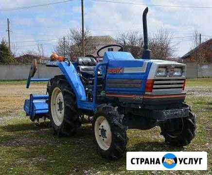Вспашка земли Новосибирск
