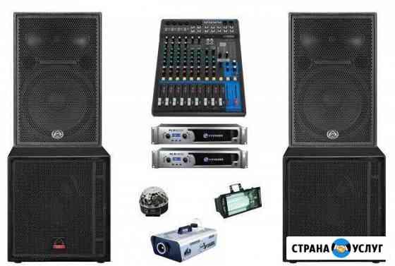 Звуковое оборудование в аренду в Ставрополе Ставрополь