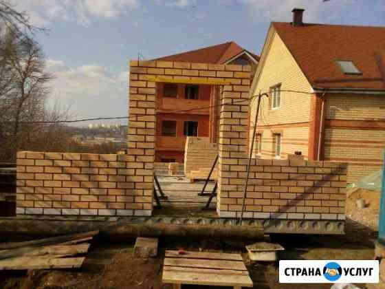 Строительство коттеджей Каменщик Смоленск