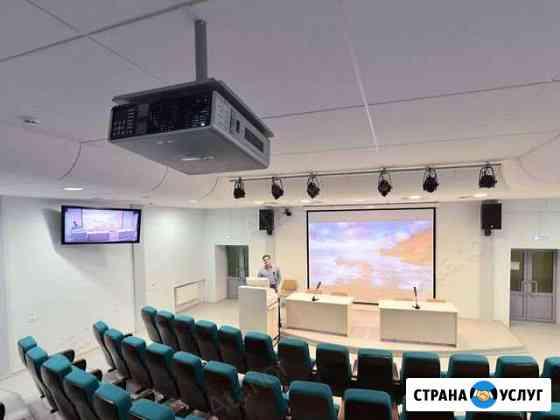 Монтаж/установка проекторов и экранов Махачкала