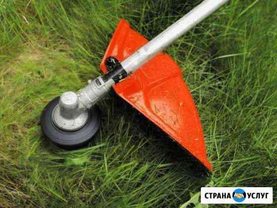 Покос травы Бобров