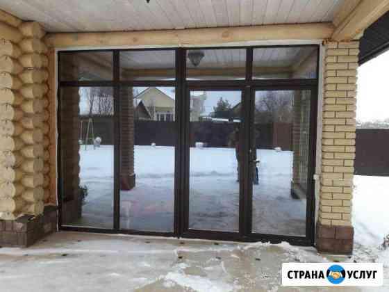 Окна, балконы, витражи,двери,входные группы,ремонт Ижевск