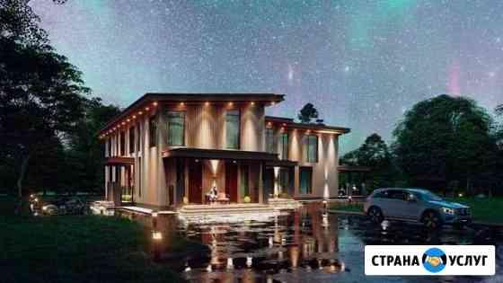 3D Визуализация частных домов и коттеджей Тюмень