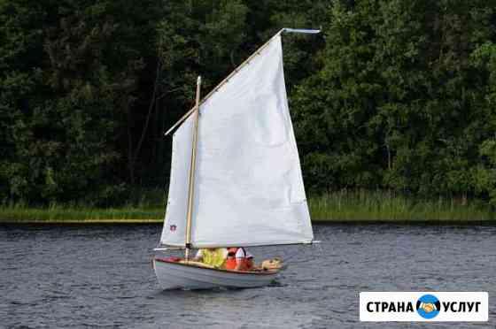 Реквизит для фото/видео съемки. Крафтовая лодка Москва