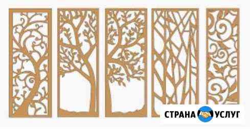 Фрезеровка. изготовление межкомнатных перегородок Ставрополь