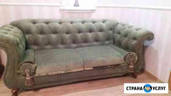 Ремонт, перетяжка мягкой мебели Киров