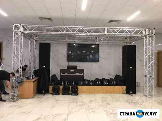 Сдаётся звуковое и световое оборудование Оренбург