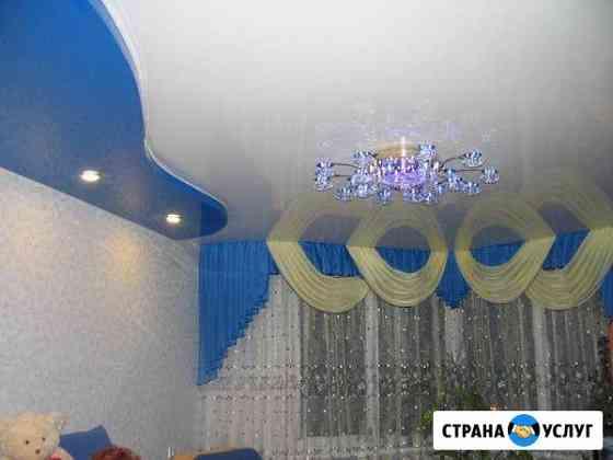 Натяжные потолки, рулонные шторы, жалюзи Киров