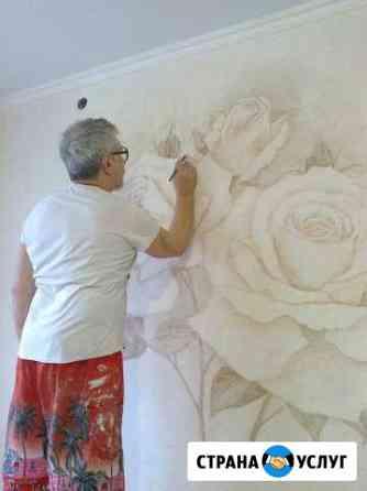 Барельеф, роспись стен, декоративная штукатурка Оренбург