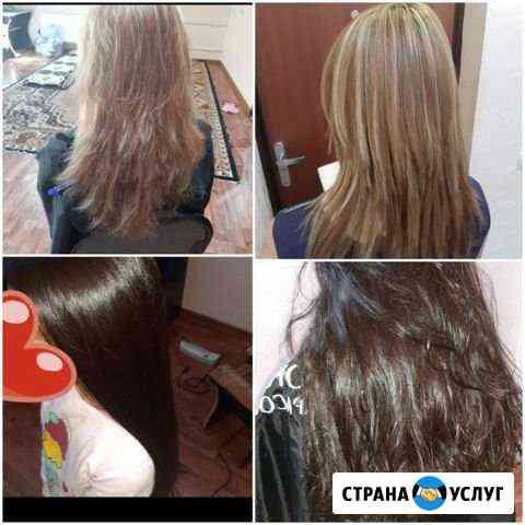 Женские Стрижки+укладки+окрашивание Обнинск