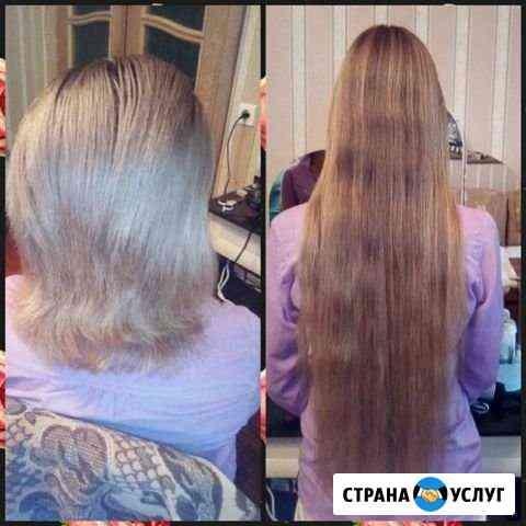 Наращивание волос Астрахань