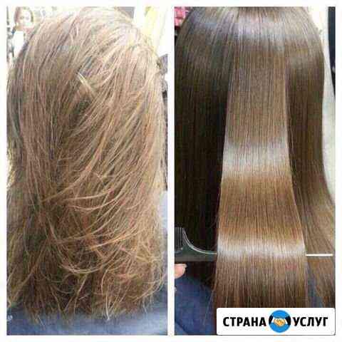 Ботокс, кератиновое выпрямление волос Курск