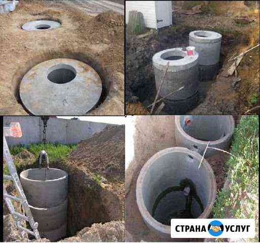 Септик канализация Ахтубинск