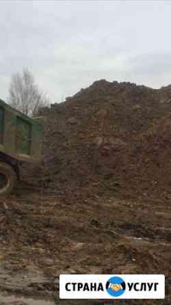 Грунт, бой бетона доставка от 18 м3 Тверь