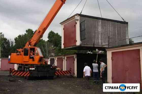 Подъем просевших гаражей Хабаровск