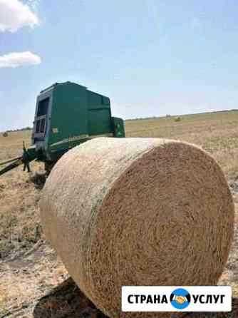 Прессование сена, соломы, покос травы, ворошение Развильное