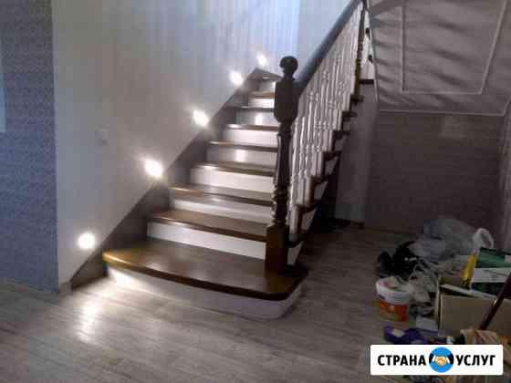 Изготовление лестниц, мебели из массива, отделка Удомля