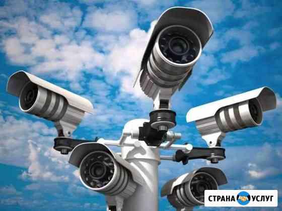 Установка камер видеонаблюдения Хабаровск