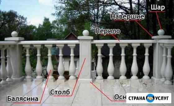 Балясины Балюстрада из бетона Воронеж