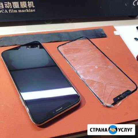 Замена стекла на iPhone 6/6s/7/8/8 Plus/X/Xs/11pro Уфа