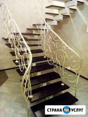 Изготовление лестниц, перил, лестничных ограждений Липецк