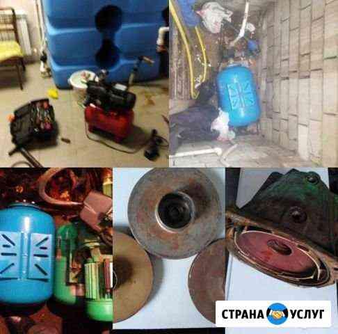 Ремонт насосных станций. установка. диагностика Плавица
