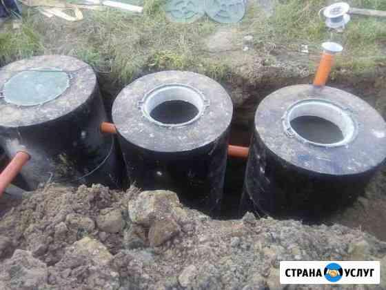 Жби септики без откачки под ключ Брянск