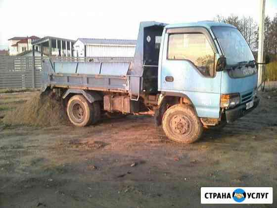 Песок, гравий с доставкой Калининград