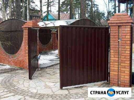 Заборы из профлиста и металлоштакетника Череповец