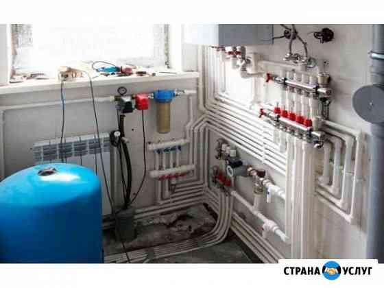 Установка системы отопления Киров