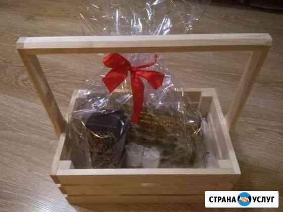 Сбор подарков в деревянный ящик Муром