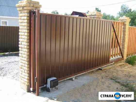 Откатные ворота. Автоматика для ворот Архангельск