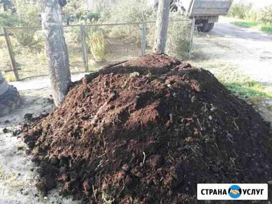 Доставка Торфа,Отсева,Перегноя,Чернозема, Навоза Ново-Талицы