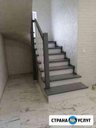 Изготовление и установка лестниц Калининград