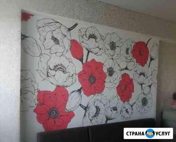 Художественная роспись стен Уфа