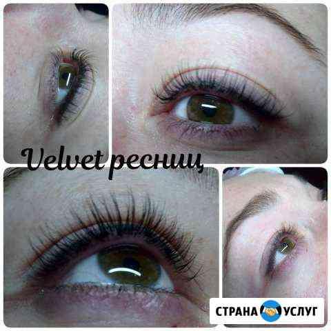 Реконструкция ресниц Velvet Курск
