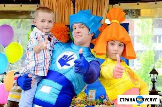 Аниматор на детский праздник, аниматоры шоу Волжский