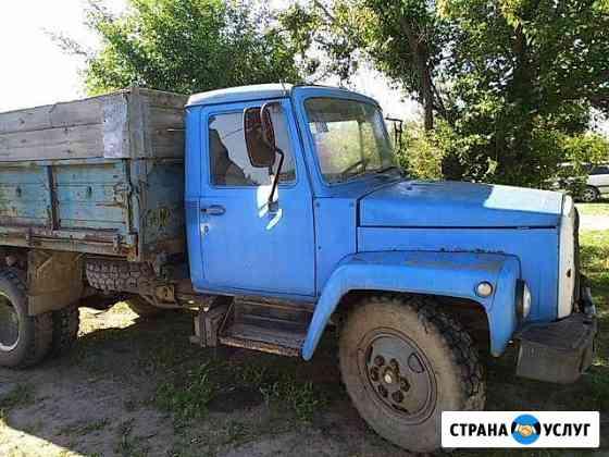 Вывоз мусора, доставка песка, щебня, чернозёма Котельниково